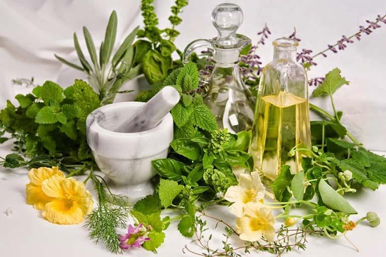 Sử dụng thảo dược thiên nhiên để điều trị viêm da cơ địa giúp đẩy lùi các triệu chứng của bệnh