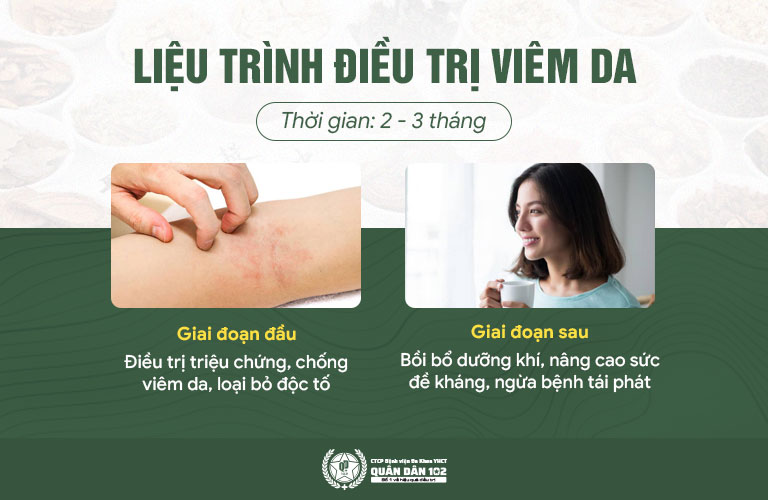 2 giai đoạn giúp điều trị viêm da dầu triệt để từ trong ra ngoài