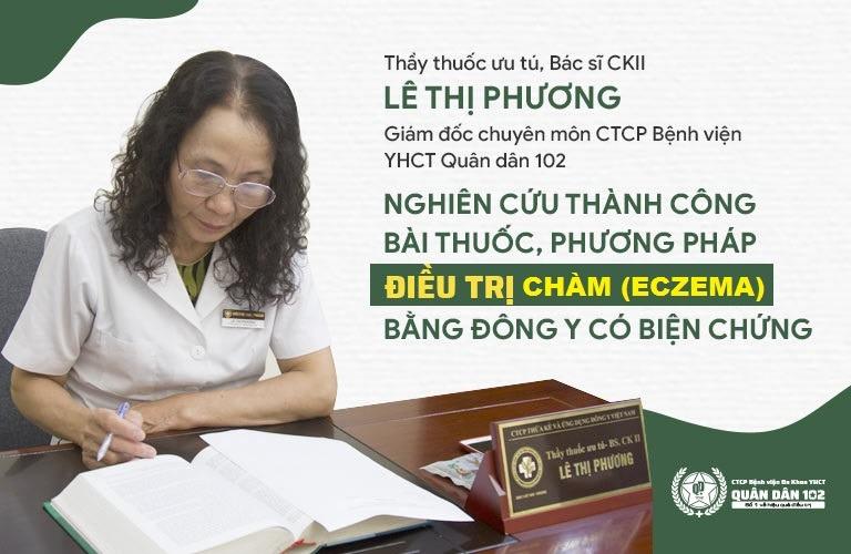 Bác sĩ Lê Phương cùng đội ngũ cộng sự nghiên cứu thành công, ứng dụng phương pháp Đông Y có biện chứng