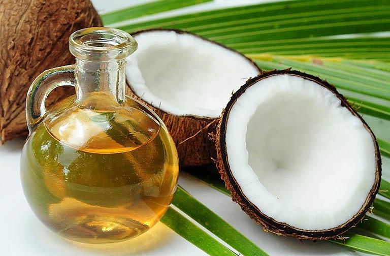 Dầu dừa và công dụng điều trị bệnh vảy nến