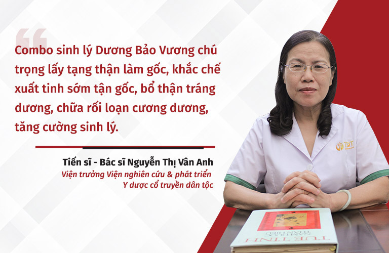 Chuyên gia đánh giá combo sinh lý Dương Bảo Vương