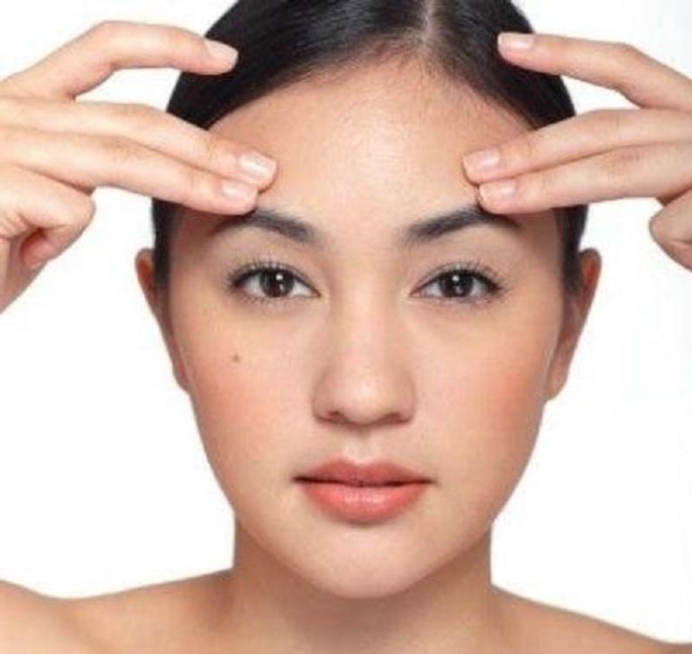Cơ sở của bệnh vẩy nến chính là mối liên hệ giữa huyệt đạo trên mặt với các cơ quan và bộ phận trong cơ thể.