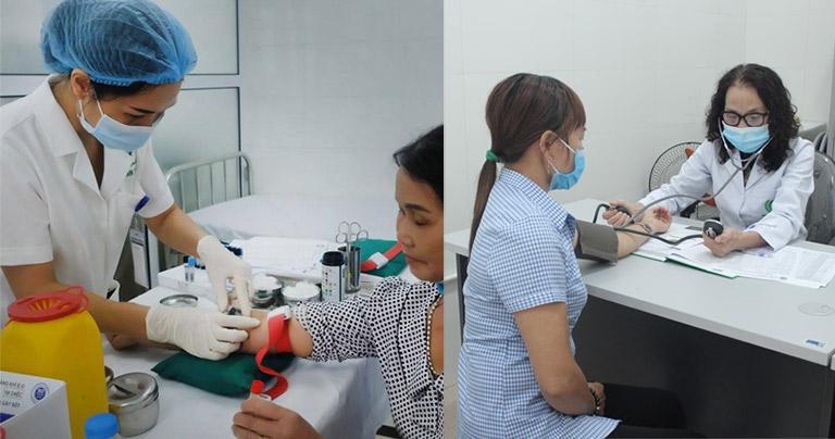 Quân dân 102 kết hợp thăm khám, chẩn đoán bằng Đông - Tây y kết hợp