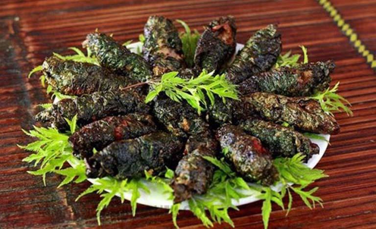 Chế biến rắn hổ hành thành món ăn sử dụng trong bữa ăn