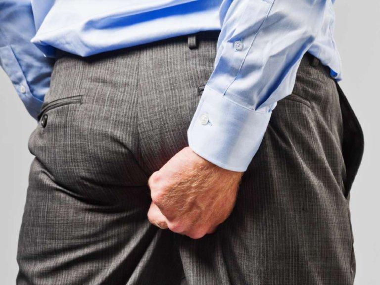 Nổi mề đay ở mông