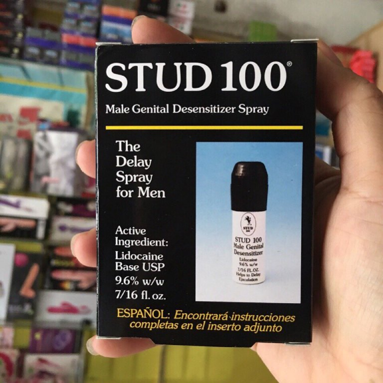 Thuốc trị xuất tinh sớm Stud 100