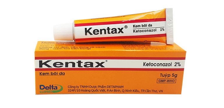Thuốc bôi ngoài da Kentax