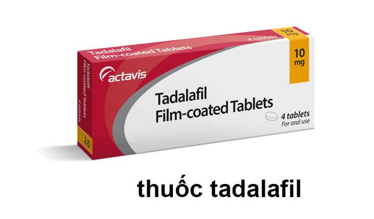 Thuốc Tadalafil điều trị rối loạn cương dương hiệu quả
