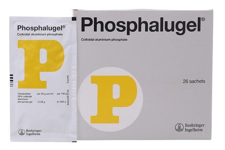 Thuốc dạ dày chữ P (Phosphalugel)