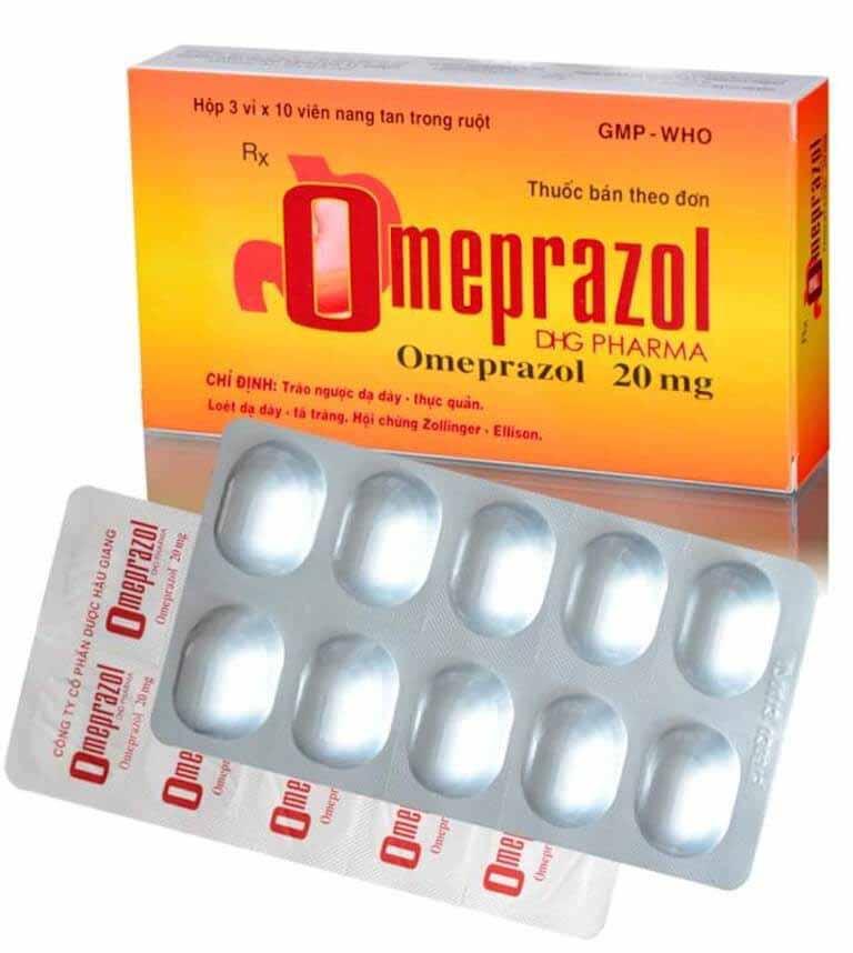 Điều trị viêm loét dạ dày tá tràng với Omeprazole