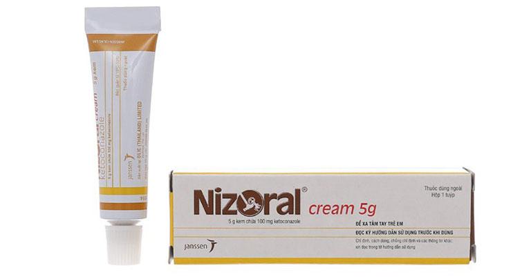 Trị lang ben bằng thuốc Tây Nizoral hiệu quả