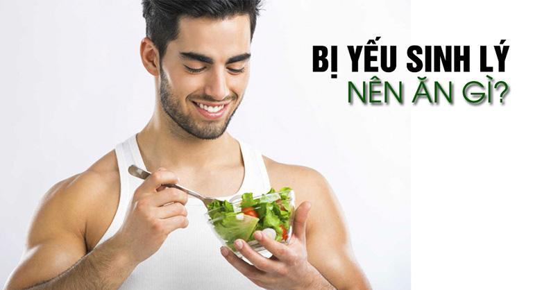 Bổ sung thực phẩm lành mạnh cho nam giới