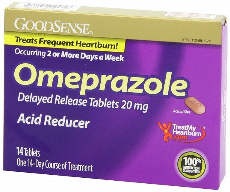 Thuốc đặc trị trào ngược dạ dày Omeprazole