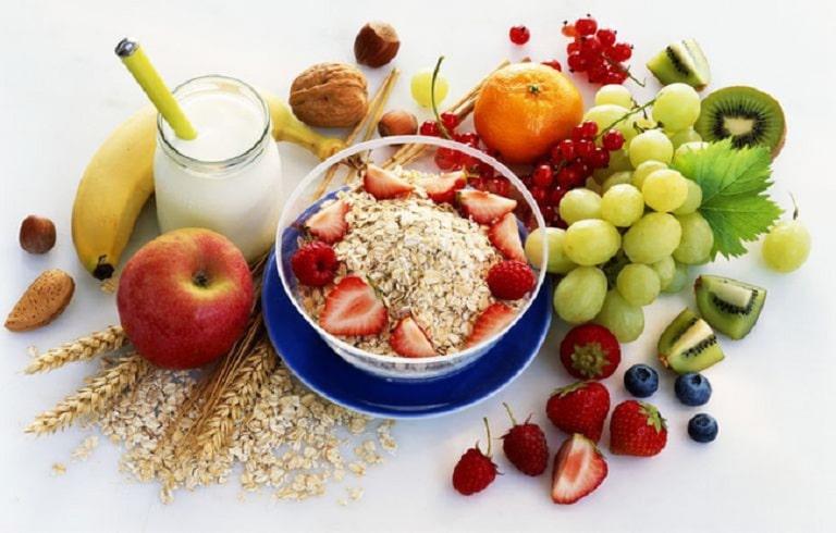 Thực phẩm giàu vitamin cũng nên sử dụng nhiều khi bị đau dạ dày