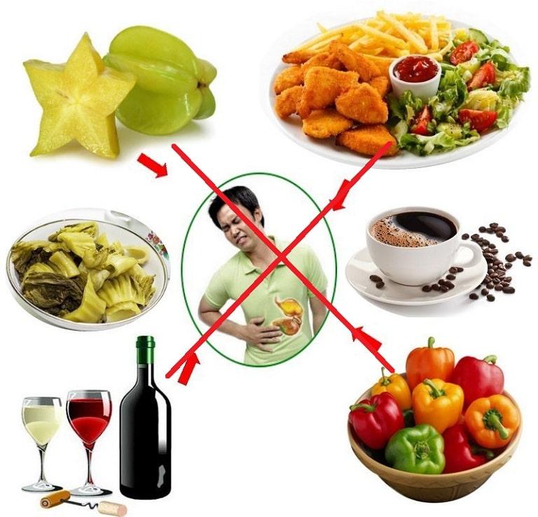 Chế độ ăn uống thiếu khoa học có thể gây viêm loét dạ dày cấp