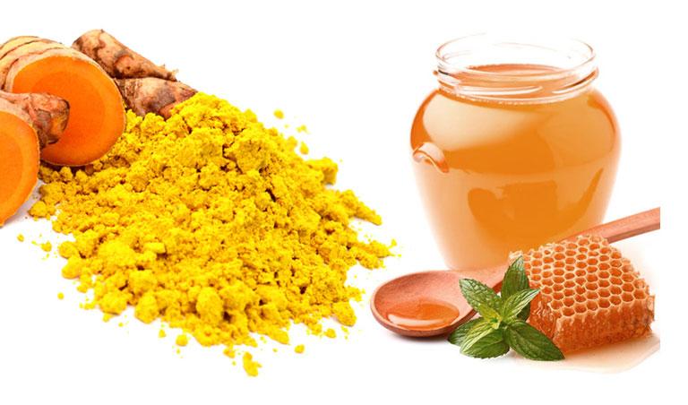 Bài thuốc sử dụng nghệ và mật ong