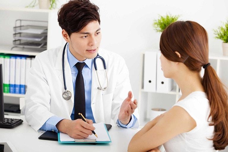 Nên gặp bác sĩ chuyên môn để trao đổi chính xác về tình trạng sức khỏe
