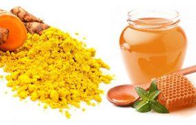 Nghệ và mật ong chữa đau dạ dày