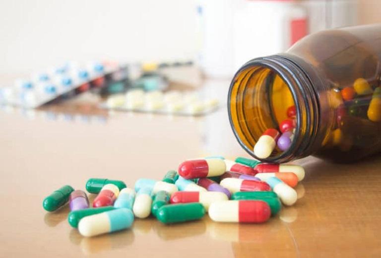 Thuốc kháng sinh được dùng trong điều trị vi khuẩn HP
