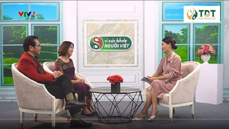 VTV2 Vì sức khỏe người Việt đưa tin giới thiệu Sơ can Bình vị tán