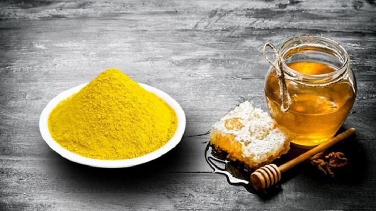 Dùng nghệ và mật ong chữa đau dạ dày