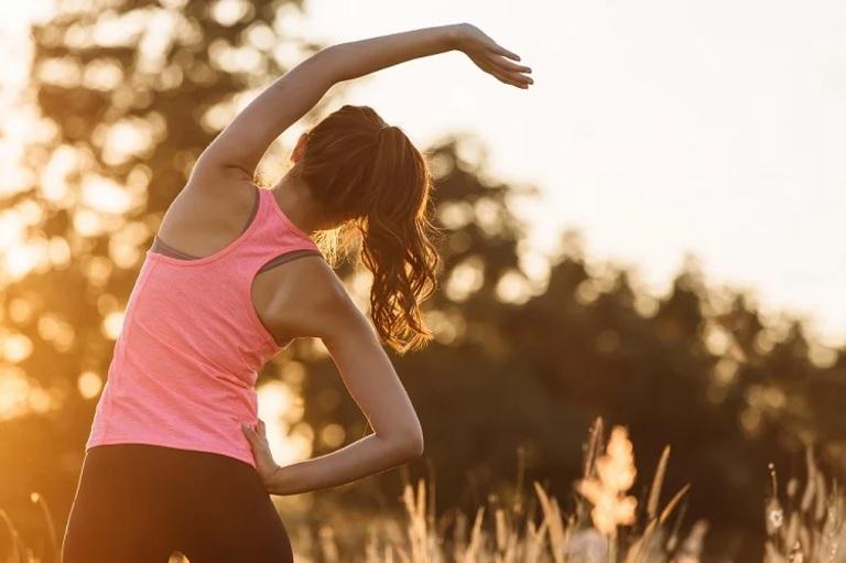 Tập thể dục giúp cải thiện nhu động ruột, tăng cường chức năng tiêu hóa và giảm đau dạ dày