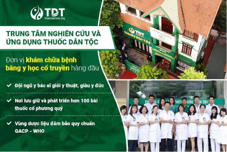 Trung tâm Thuốc dân tộc là đơn vị về YHCT hàng đầu hiện nay