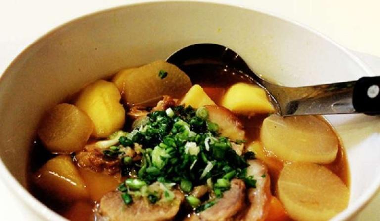 Khoai tây nấu bạch cập là món ăn bài thuốc dành cho những người mắc bệnh lý dạ dày
