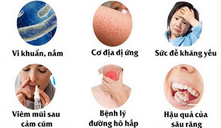 Các nguyên nhân gây ra bệnh viêm đa xoang thường gặp trong đời sống hàng ngày