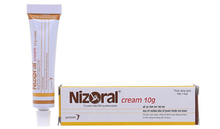 Làm giảm các triệu chứng khó chịu do lác đồng tiên gây ra bằng thuốc bôi Nizoral