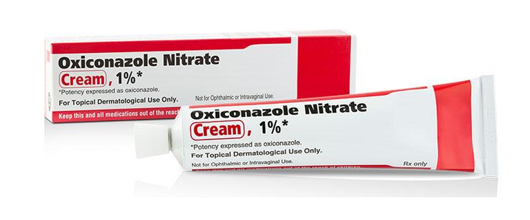 Thuốc kháng nấm Oxiconazole có khả năng điều trị bệnh lác đồng tiền rất tốt