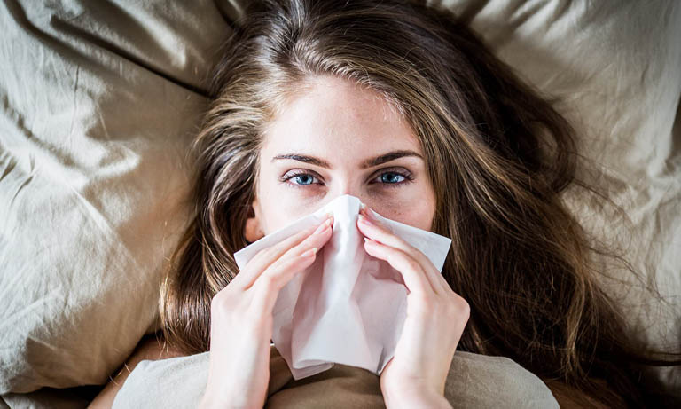 Viêm mũi vận mạch là hiện tượng hệ thần kinh giao cảm bị kích ứng quá mức gây viêm