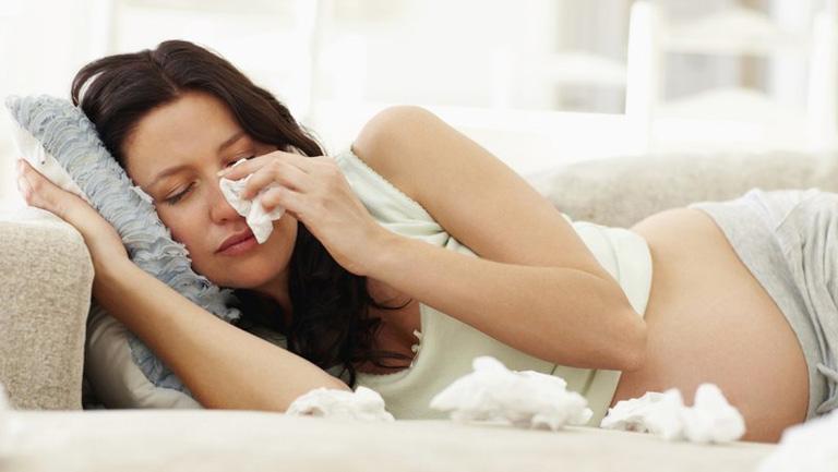 Viêm xoang là bệnh lý về đường hô hấp thường gặp ở các chị em phụ nữ đang trong giai đoạn thai kỳ