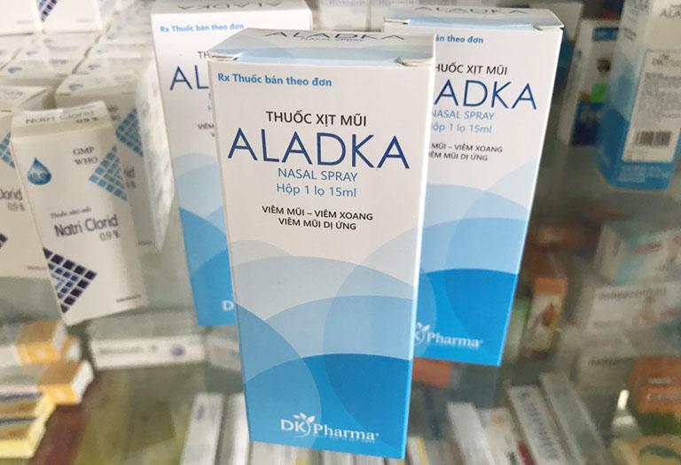 Thuốc xịt mũi trị viêm xoang Aladka mang lại hiệu quả vượt trội so với các loại thuốc xịt khác