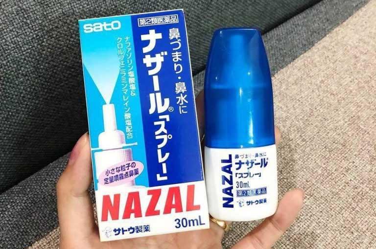 Thuốc xịt mũi trị viêm xoang Nazal có nguồn gốc xuất xứ từ Nhật Bản