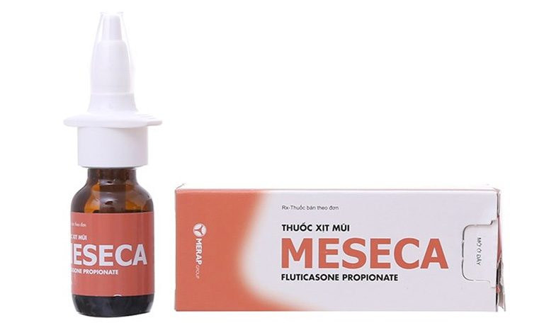 Điều trị bệnh viêm xoang tại nhà bằng thuốc xịt mũi Meseca