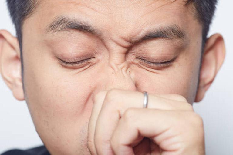 Ngứa mũi là triệu chứng thường gặp của bệnh viêm mũi dị ứng khiến người bệnh cảm thấy rất khó chịu