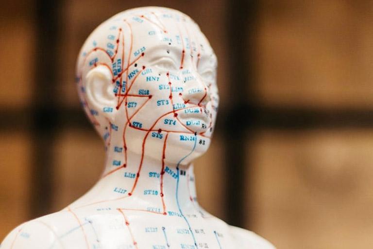 Xác định vị trí của các huyệt đạo trên cơ thể có tác dụng điều trị bệnh viêm xoang