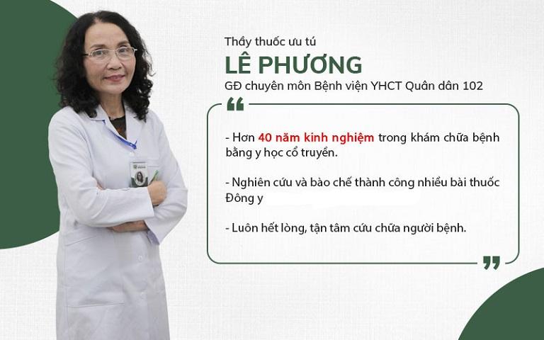 Bác sĩ Lê Phương - thầy thuốc 40 năm kinh nghiệm chỉ ra các sai lầm trong điều trị viêm da cơ địa