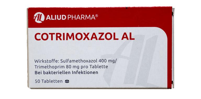chữa viêm xoang bằng thuốc kháng sinh Cotrimoxazol Al