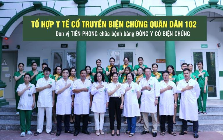"""Nhờ biết đến Tổ hợp y tế Quân Dân 102, chị Hồng Anh đã tìm được """"đúng thầy, đúng thuốc"""" chữa viêm da"""