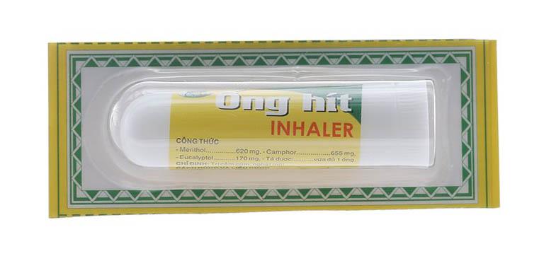 thuốc hít trị viêm xoang Inhaler