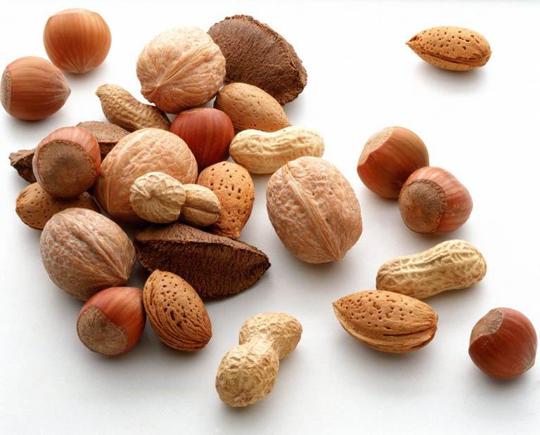 Các loại hạt bổ sung năng lượng cho cơ thể nhưng vẫn đảm vảo yếu tố duy trì trọng lượng của cơ thể