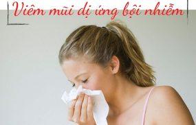 Viêm mũi dị ứng bội nhiễm