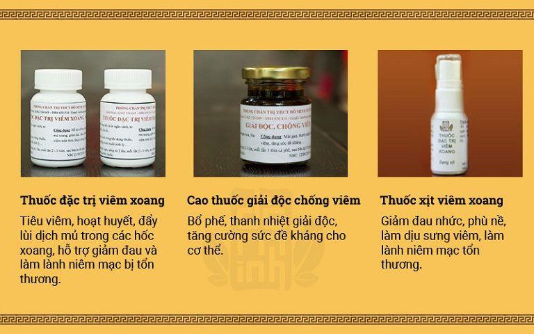 Bài thuốc chữa viêm xoang Đỗ Minh Đường