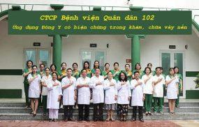 Bằng việc ứng dụng Đông Y có biện chứng, CTCP Bệnh viện Quân dân 102 trở thành địa chỉ khám, chữa vảy nến uy tín