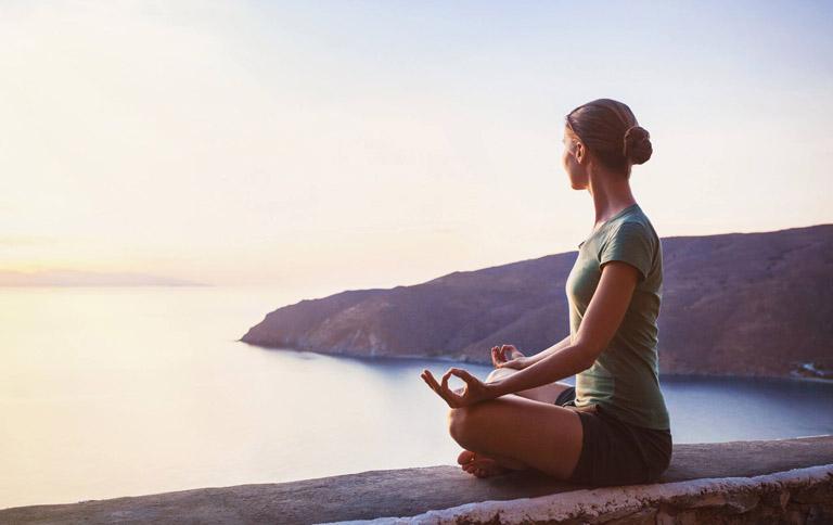 Thiền đinh là bộ môn ổn định tâm lý và giải tỏa cằng thẳng rất tốt bạn nên tập luyện