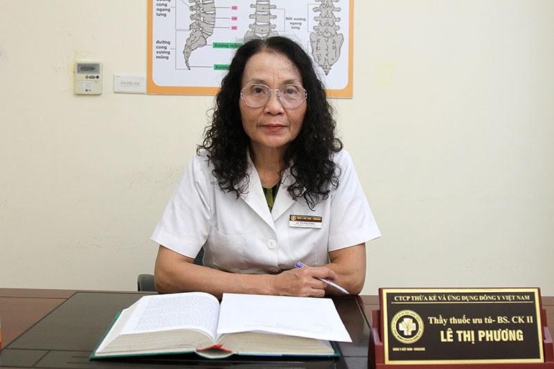 Bác sĩ Lê Phương - Giám đốc trung tâm là người điều trị cho nghệ sĩ Thanh Hiền lúc bấy giờ