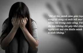Viêm da mủ là nguyên nhân dẫn đến trầm cảm, mất tự tin trong cuộc sống