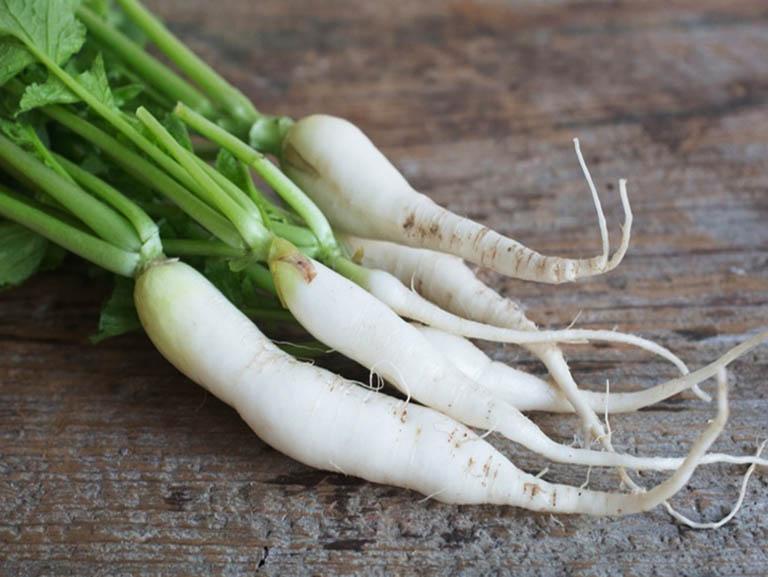 Trong củ cải trắng có chứa nhiều dưỡng chất giúp người bệnh nâng cao sức đề kháng và hệ miễn dịch của cơ thể